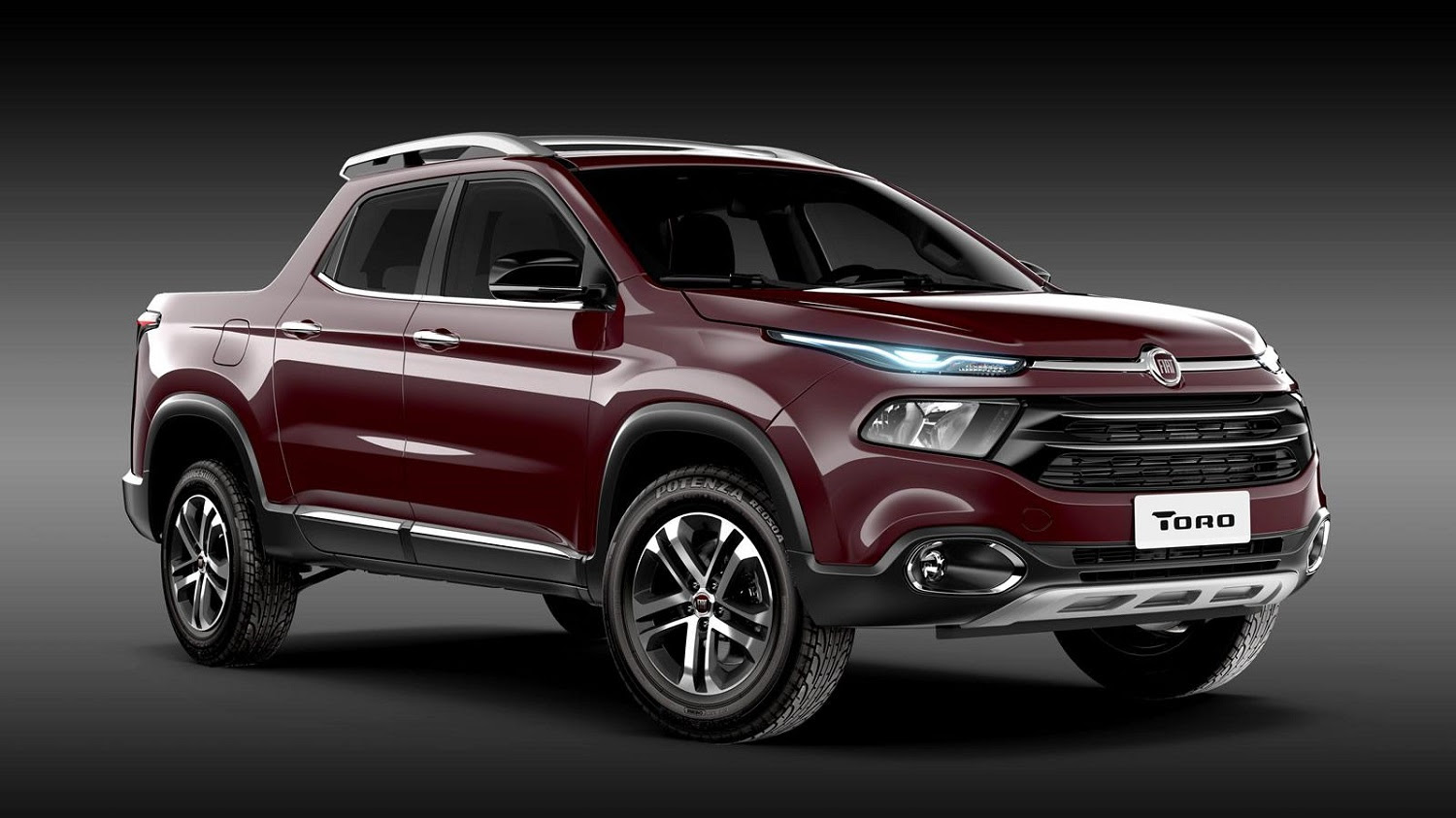 Fiat's Jeep-based, Brazil-bound Toro pickup truck is an ...