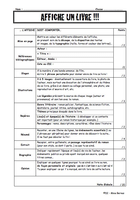 Exemple De Fiche De Lecture Dun Article - Exemple de Groupes