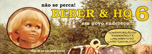 Beber & HQ 06 no afé com letras em BH