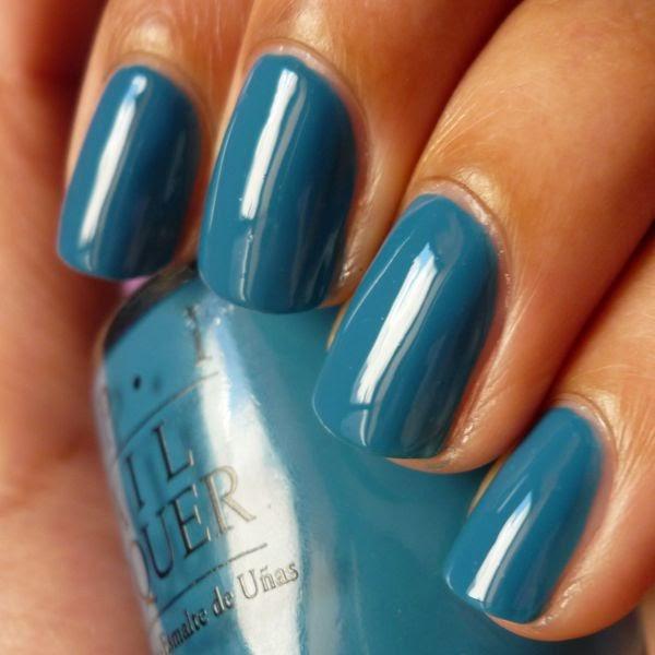 Blue Nail Polish Names: Keerthamina Pretty Ballerina: Swatch: Opi Suzi Says Feng Shui