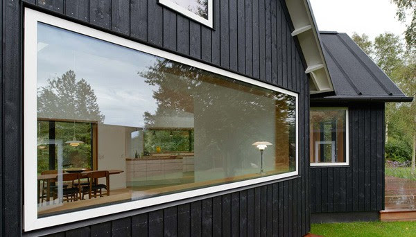 Rustic-Modern Danish Village House in Denmark