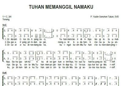 kunci piano lagu rohani sentuh hatiku