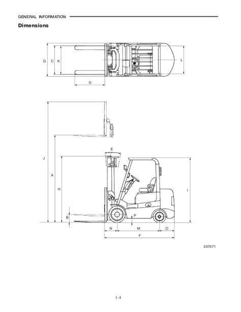 Caterpillar cat gc15 k forklift lift trucks service repair