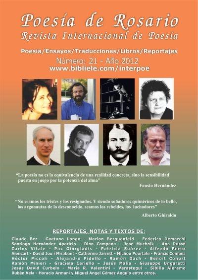 Revista de Poesía N°21