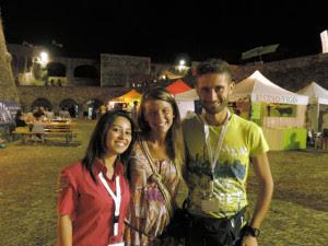 con Roberta e Giovanni