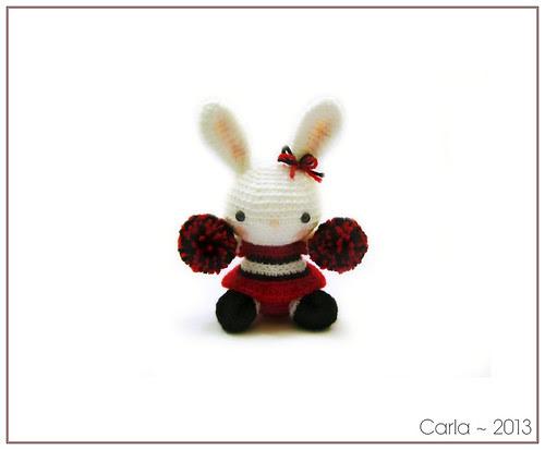 Cheerleader Bunny 2