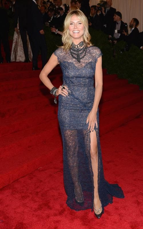 Costume Institute Gala Met Ball - May 7, 2012, Heidi Klum