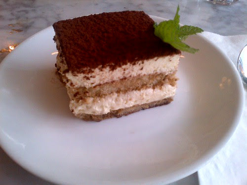 Tiramisu at Motorino