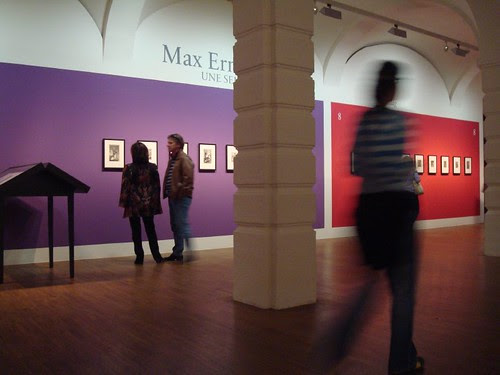 Max Ernst in the Albertina