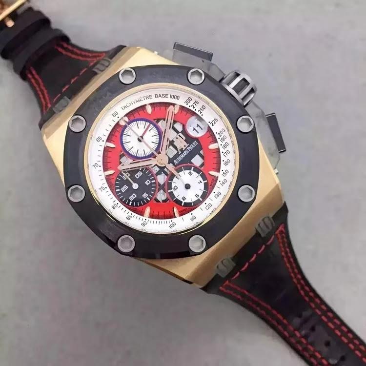 Replica Audemars Piguet Rubens Barrichello III 26284RO