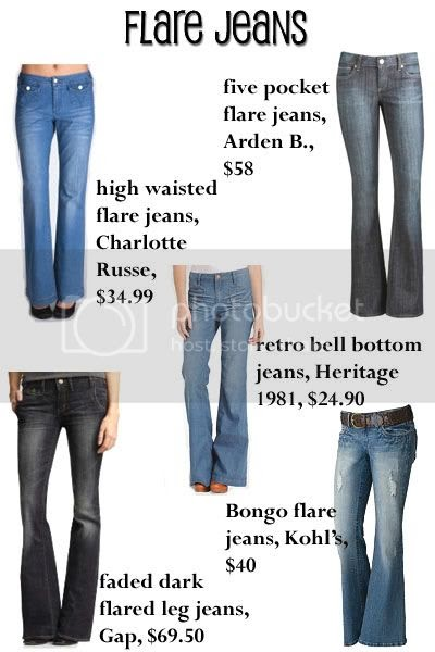 Fashion Trend Guide: Trend On The Rise - Flare Leg Jeans