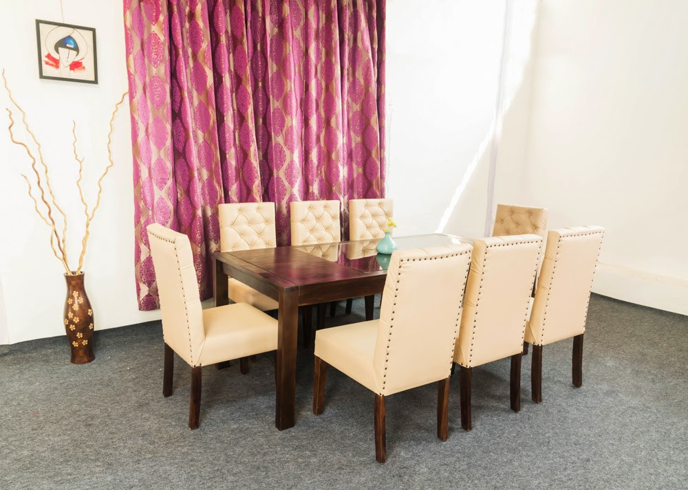 Wooden 8 Seater Dining Table