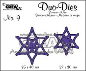 Duo Dies no. 9 Open Flowers Small 1 / Duo Dies no. 9 Open Flowers Small 1