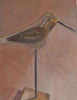 #9 1-hour oil, wooden bird