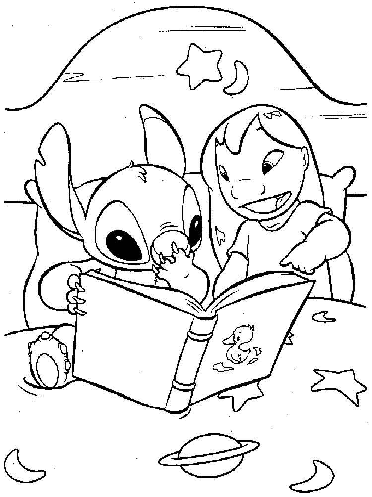 lilo and stitch coloring pages 1