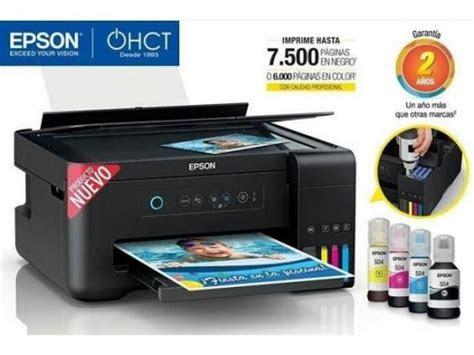 impresora multifuncional epson  sistema de tinta