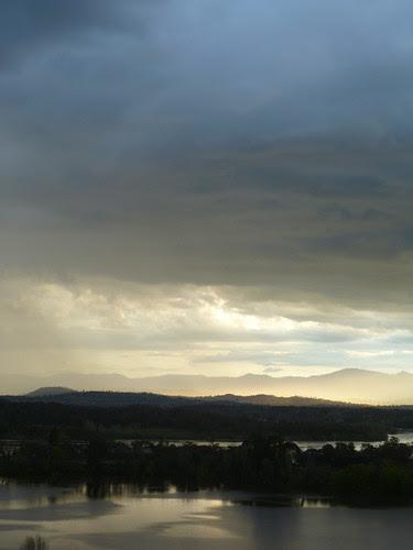 brindabella lake sky