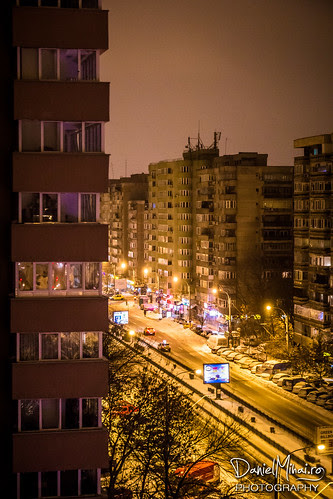 Saturday night in Bucharest by Daniel Mihai