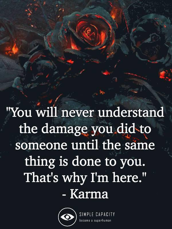 Karma Life Inspirational Quotes Motivational Thoughts And