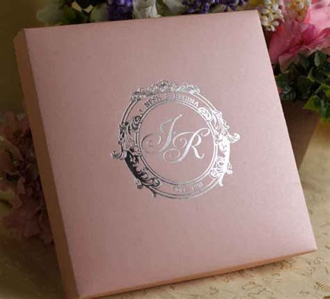 Silk Wedding Invitation Boxes Wholesale