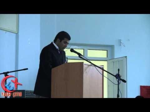 Bozkır Lisesi Öğrencisi Faruk Yaşkeçeli'den Gençlik Konuşması