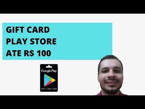 Como Ganhar Gift Card de Ate R$ 100 da Google Play Store