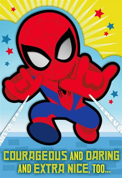 MARVEL Spider Man? You're a Great Kid Birthday Card