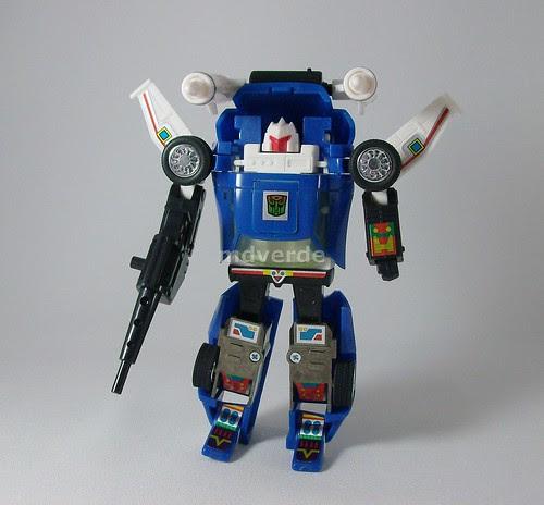 Transformers Tracks G1 Reissue - modo robot
