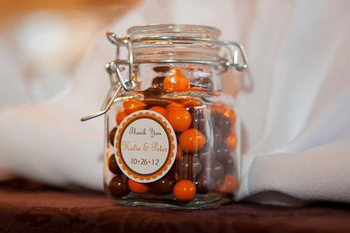 Candy in a jar Wedding / Party Favor