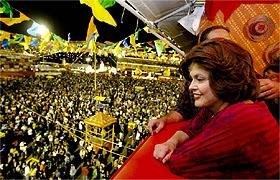 Dilma disse que ficou impressionada com a \
