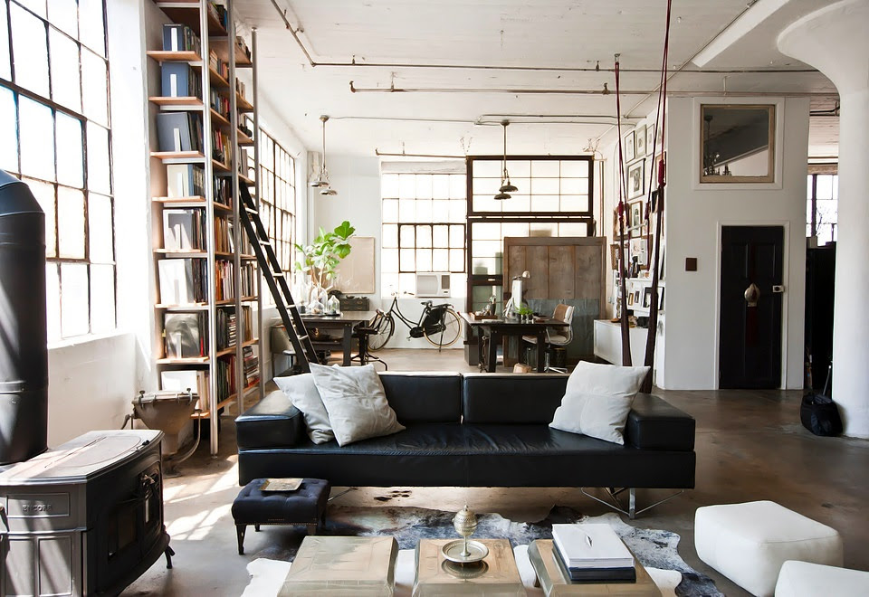 Chris A.  Dorsey Alina Preciado Brooklyn Loft Houzz 1