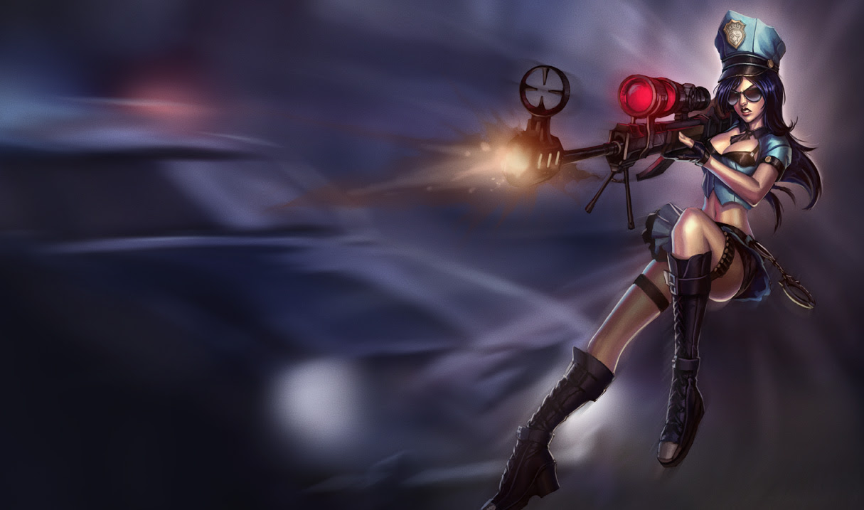 Caitlyn League Of Legends Wallpapers