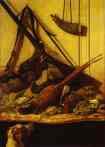 Claude Monet.  Troféu de Caça.