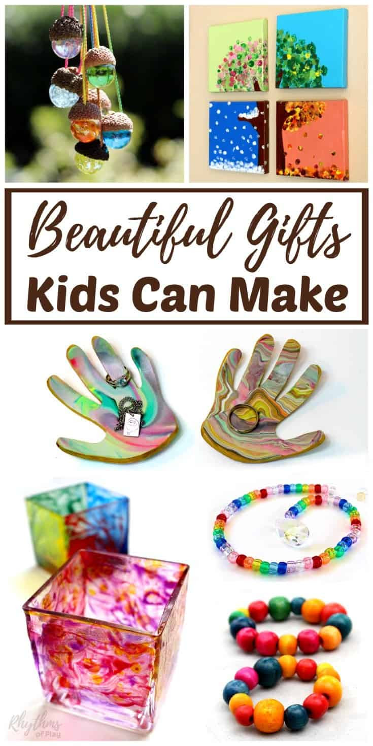 Beautiful DIY Gifts Your Kids Can Make