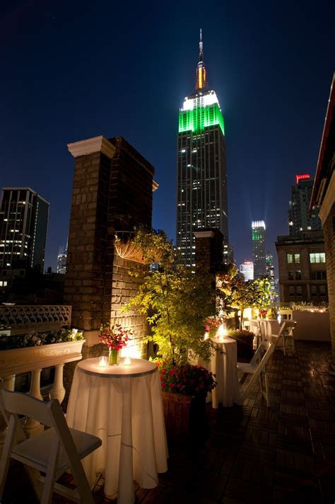 View of the Empire State Building from the Midtown Loft