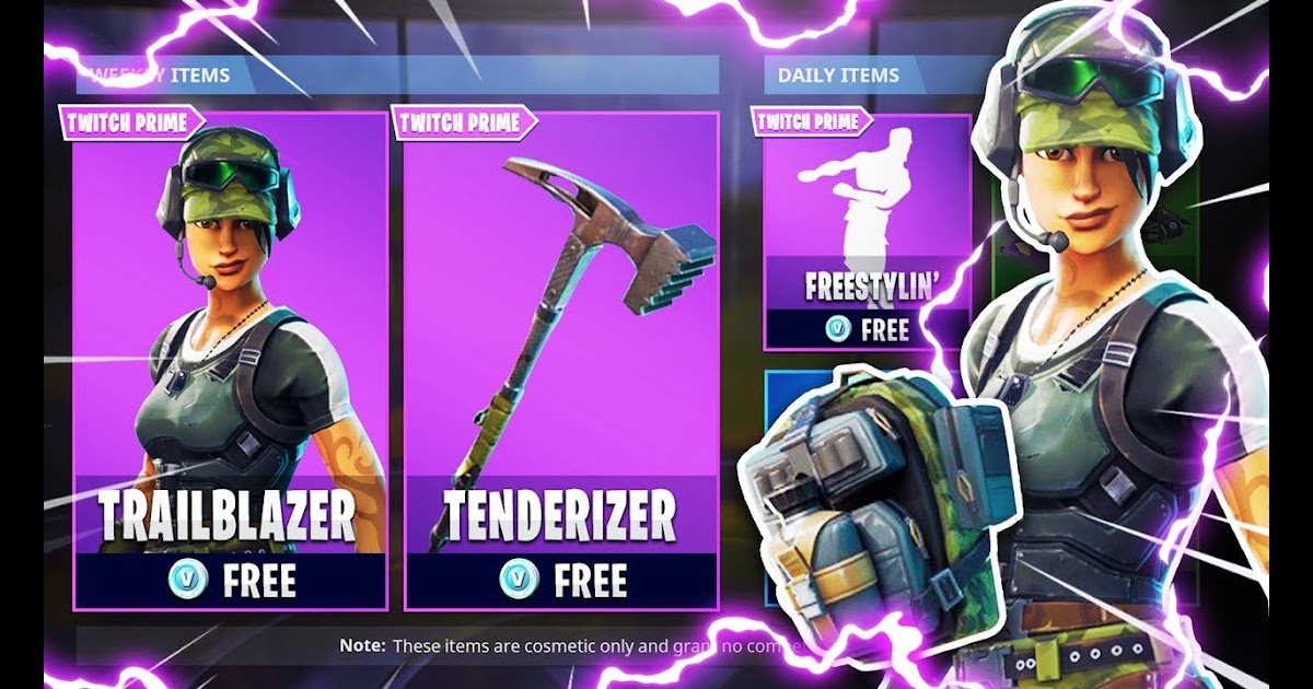 How To Get Free Skins In Fortnite Twitch   Free Redeem