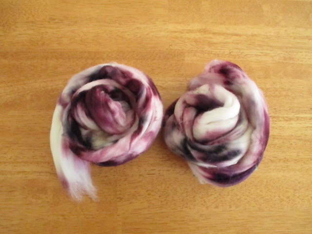 Purple fiber