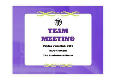 Clubs & Meetings eInvitations