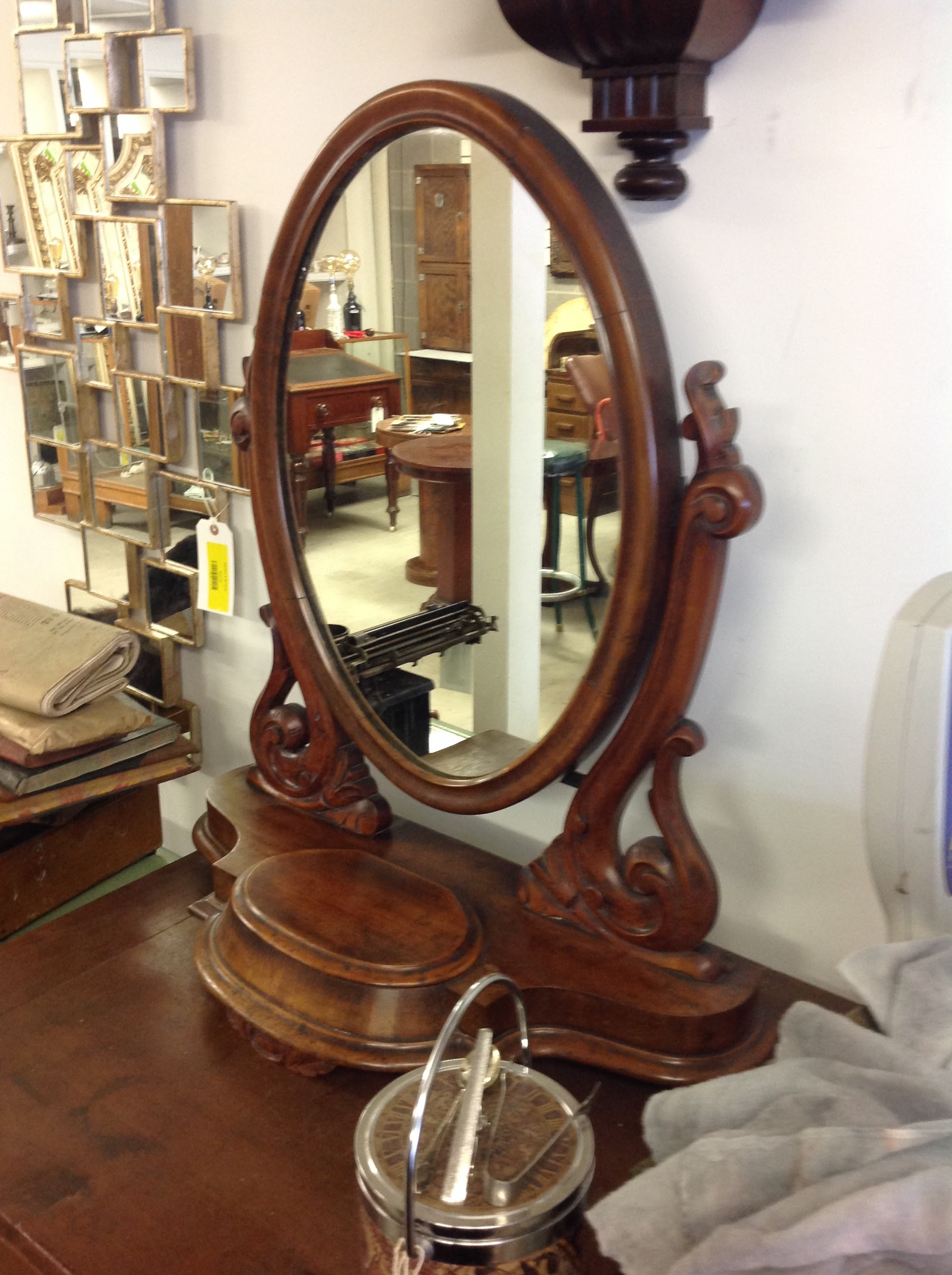 Vanity Mirror And Stand On The Square Emporium