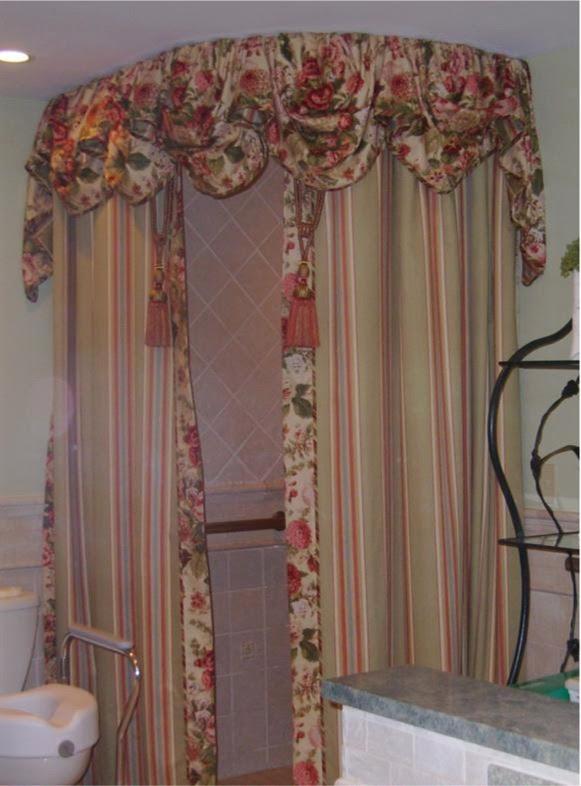 Diy Shower Curtain Valance Image Cabinets And Shower Mandra Taverncom