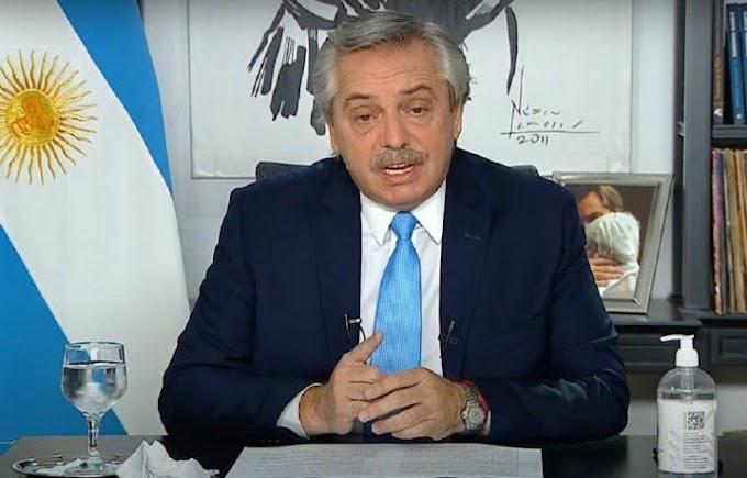 Coronavirus: las medidas que anunció Alberto Fernández