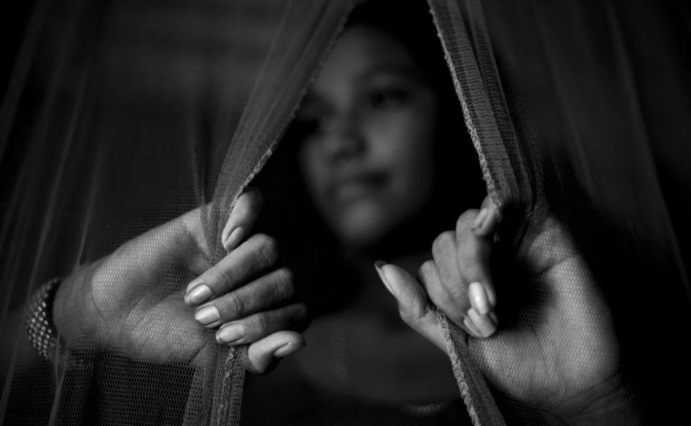 María del Carmen de 14 años fue explotada sexualmente durante tres años.