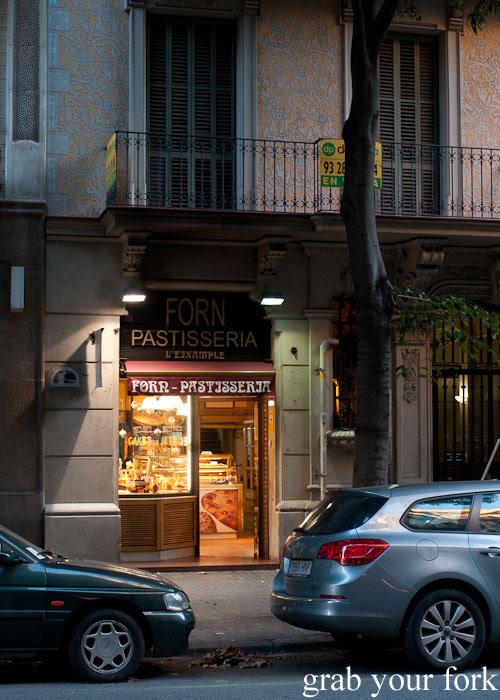 Forn Pastisseria in L'eixample, Barcelona