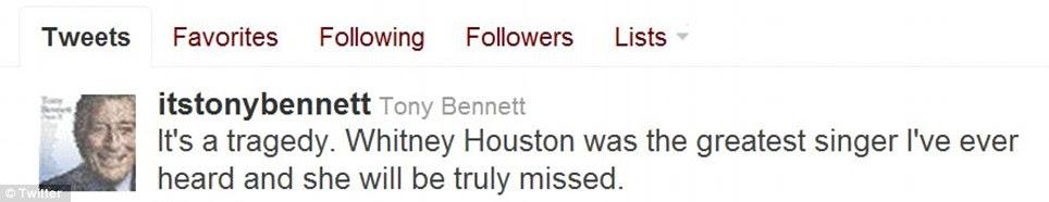 """""""Tragédia"""": Jazz lenda Tony Bennett chamou uma das 'maiores cantores'"""