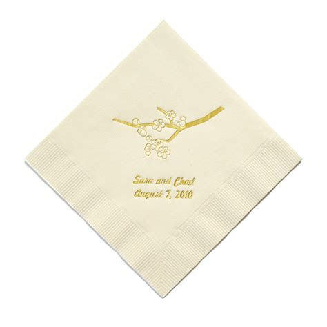 Personalized Napkins   The Knot Shop