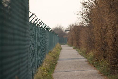 FRA airport fence