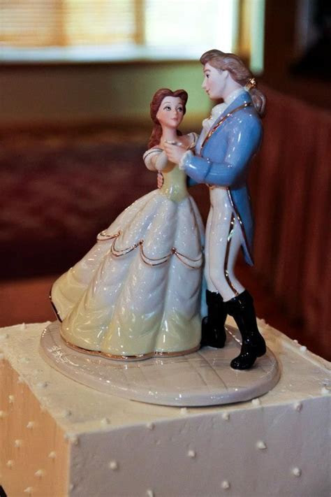 Beauty and the Beast cake topper, Lenox   MY wedding
