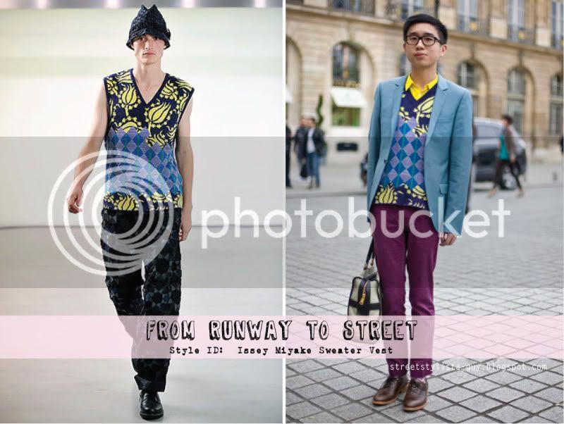 FRTS - Issey Miyake Sweater Vest @ StreetStylista.Homme