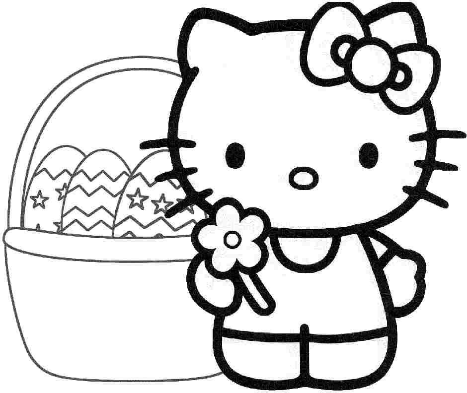 Free Printable Hello Kitty Coloring Pages - Coloring Home