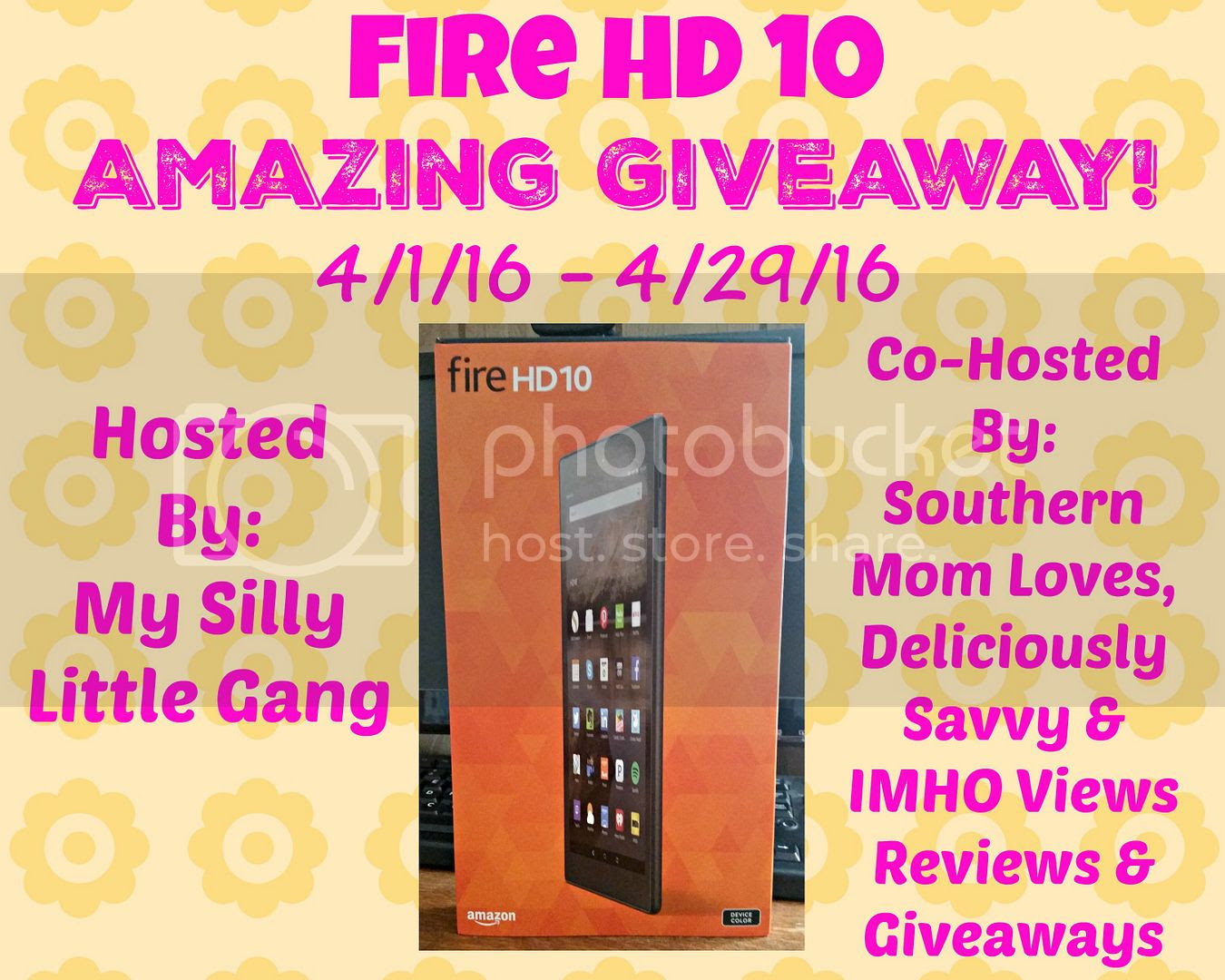 Fire HD 10 Amazing Giveaway